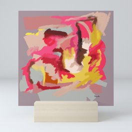 50 Shades of red Mini Art Print