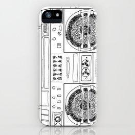 Boooombox iPhone Case