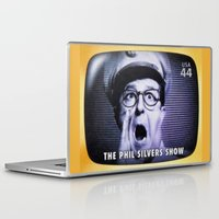 phil jones Laptop & iPad Skins featuring The Phil Silvers Show by lanjee