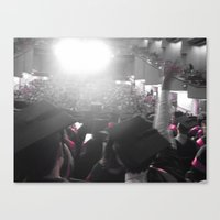glee Canvas Prints featuring Graduation Glee (part 2) by Cassandra Evelyn