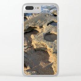 Rocky Beach in Florida Clear iPhone Case