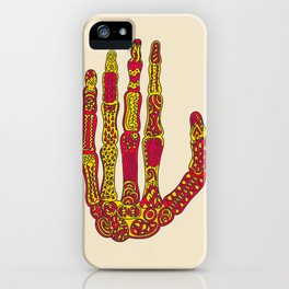 Hand z-ray iPhone Case