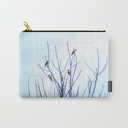 Goldfinches in a Tree Carry-All Pouch