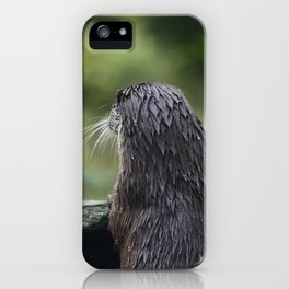 Peeping otter iPhone Case