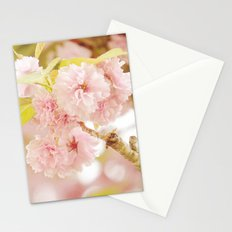 Pink Flower Photography | Shabby Chic Blossoms Stationery Cards