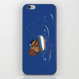 Bear Fishing iPhone Skin
