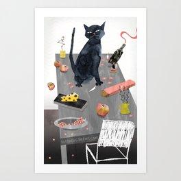 Trustworthy Creature Art Print