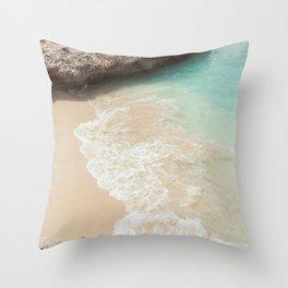 Tropical Paradise | beach waves travel photography ocean nature sea Throw Pillow