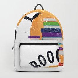 Boooooks Halloween, Booooks Cute Halloween Backpack