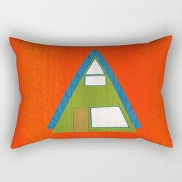 Architecture Series: A-Frame Rectangular Pillow