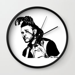 GET WITH THE WEEKEND Wall Clock