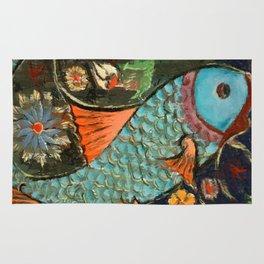 Fish Mosaic Rug