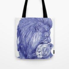 Lions Tote Bag