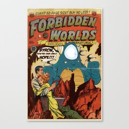 Forbidden Worlds Canvas Print