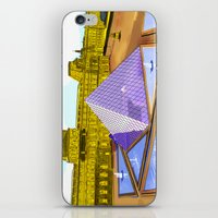 bonjour iPhone & iPod Skins featuring Bonjour by Hola Vicky