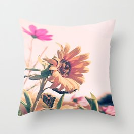 The last one standing strong :0) Throw Pillow