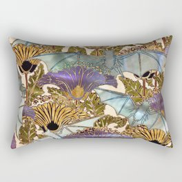 Art Nouveau Bats - Pearl Variation Rectangular Pillow