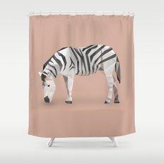 Zebra. Shower Curtain