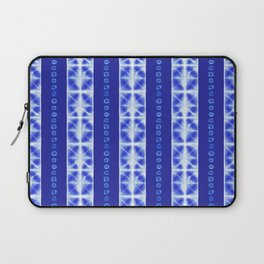 Shibori strips Laptop Sleeve
