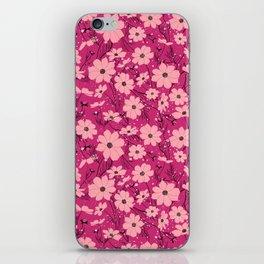 Cosmea pink iPhone Skin
