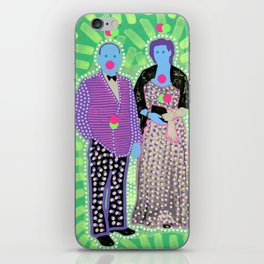 The Invisible Gala 001 iPhone Skin