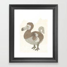 Brown Dodo Framed Art Print