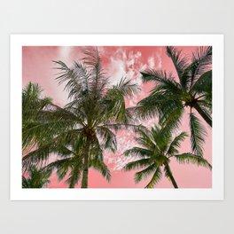 Pink paradise Art Print