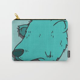 Green Bear Carry-All Pouch