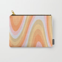 Wavy 70s Art Carry-All Pouch
