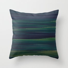 Glitched v.3 Throw Pillow