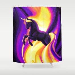 Liquid Unicorn Shower Curtain