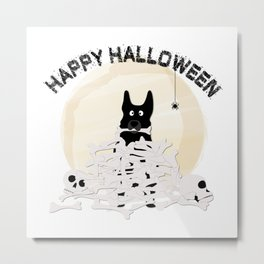 halloween shepherd Metal Print