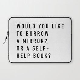 Borrow a Mirror Laptop Sleeve