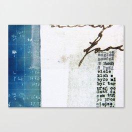 Love Script Canvas Print