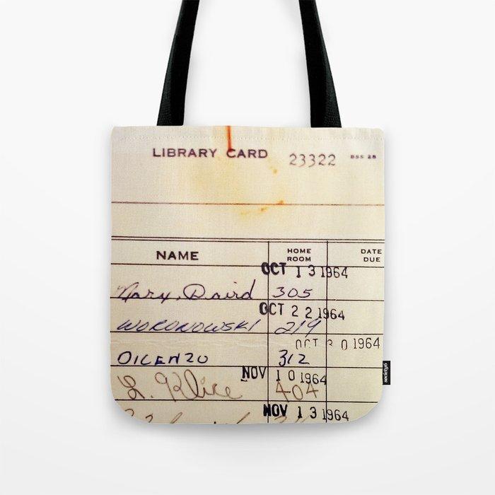 Library Card 23322 Umhängetasche