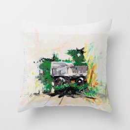 Accident two Throw Pillow