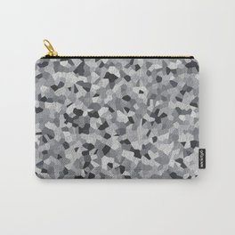 white irregular shape pattern Carry-All Pouch