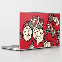 faces Laptop & iPad Skins featuring Faces by Arianna Fisher