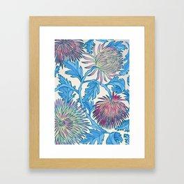 Candied Chrysanthemum Framed Art Print