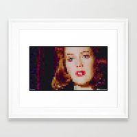 "scully Framed Art Prints featuring SCULLY by ""Neverodd Inks"""