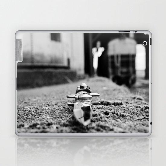 Industrial stiletto Laptop & iPad Skin