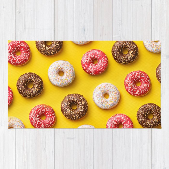 Donuts lovers Rug