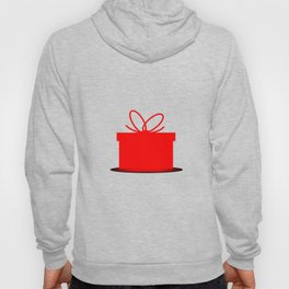 Present In A Red Box Hoody