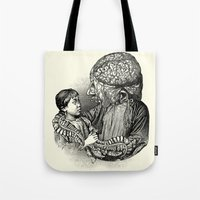 akira Tote Bags featuring Akira by DIVIDUS