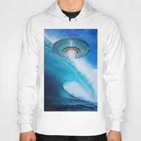 ufo Hoodies featuring UFO by John Turck
