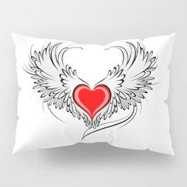 Angel Heart Pillow Sham