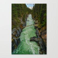 Below Numa Falls Canvas Print
