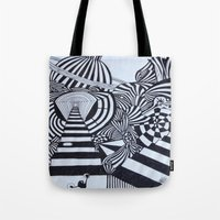 ninja Tote Bags featuring Ninja by Biancasigns