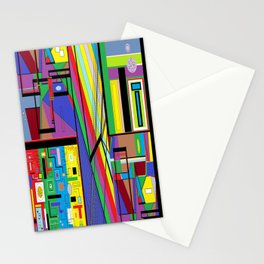 Geometry Abstract Stationery Cards