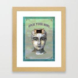 Open Your Mind - 1 Framed Art Print
